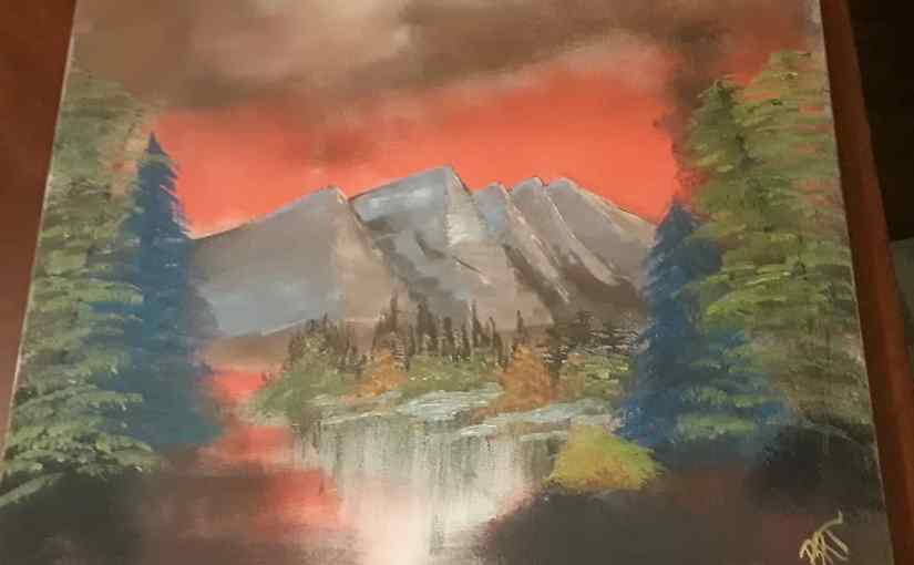 Bob Ross PaintAlong
